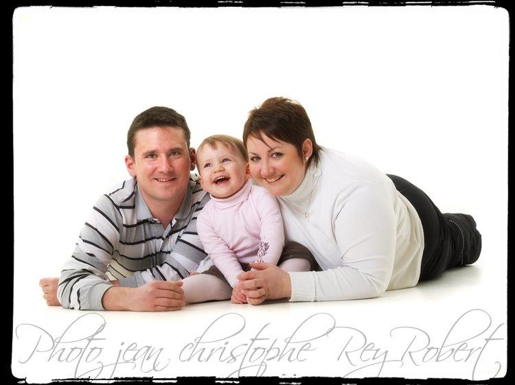 Portrait d'une famille par le photographe Jean-Christophe Rey-Robert