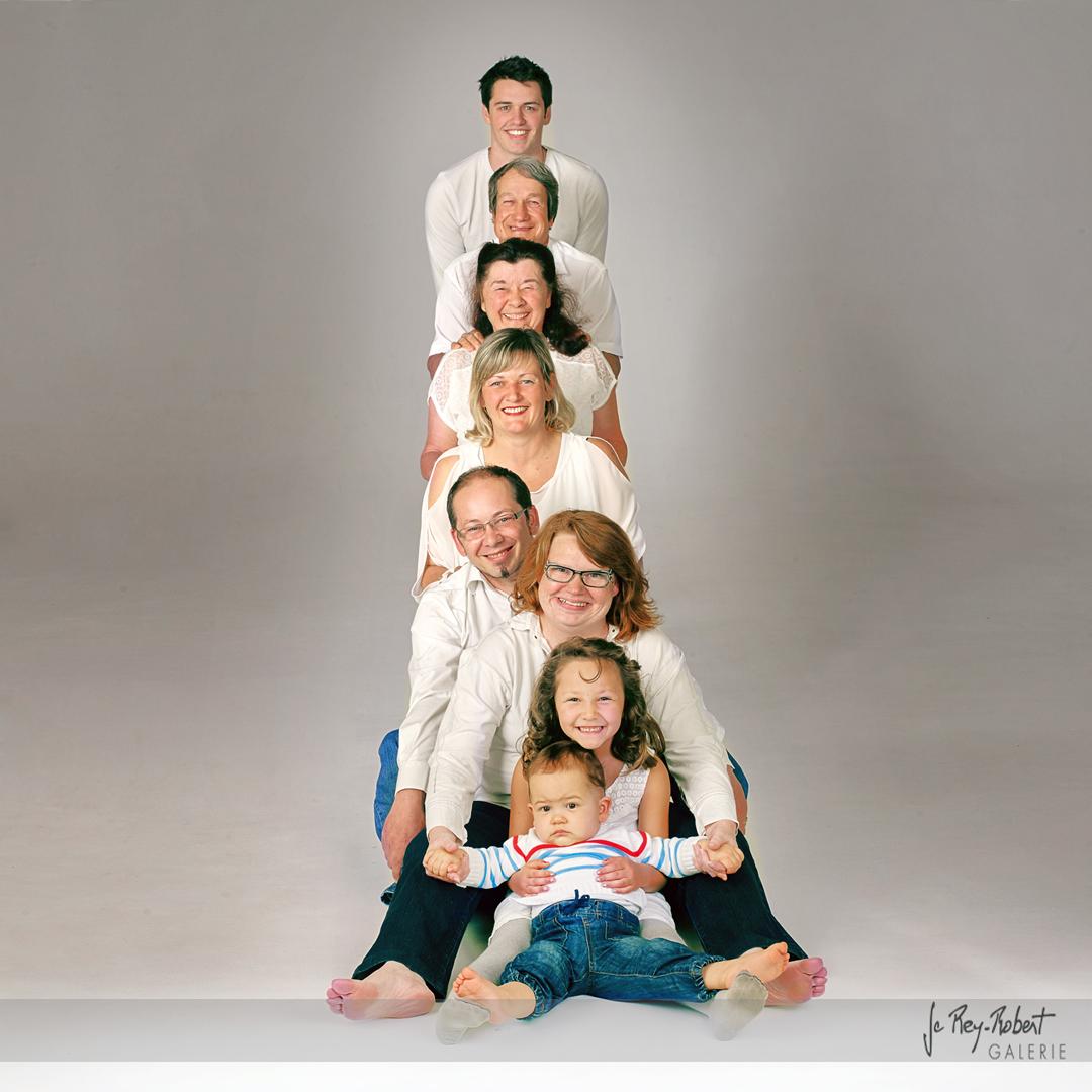 photo de famille romans drome
