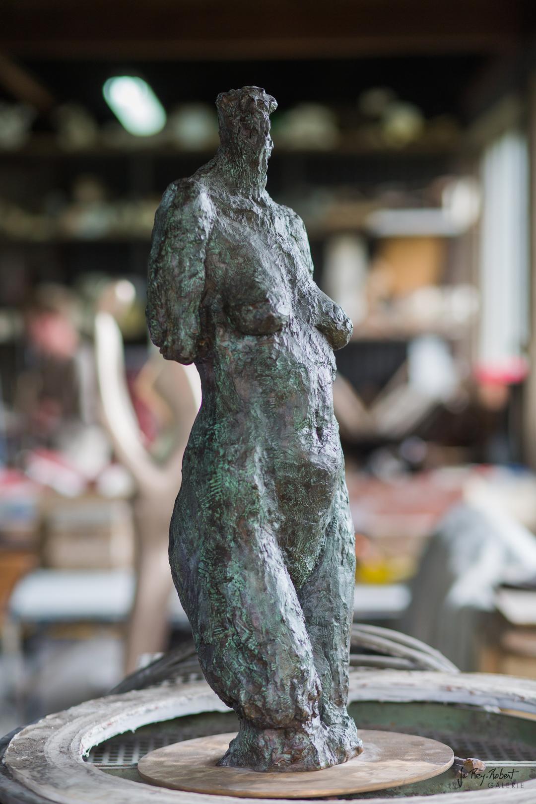 Bronze réalisé pour le fondeur d'après création de l'artiste