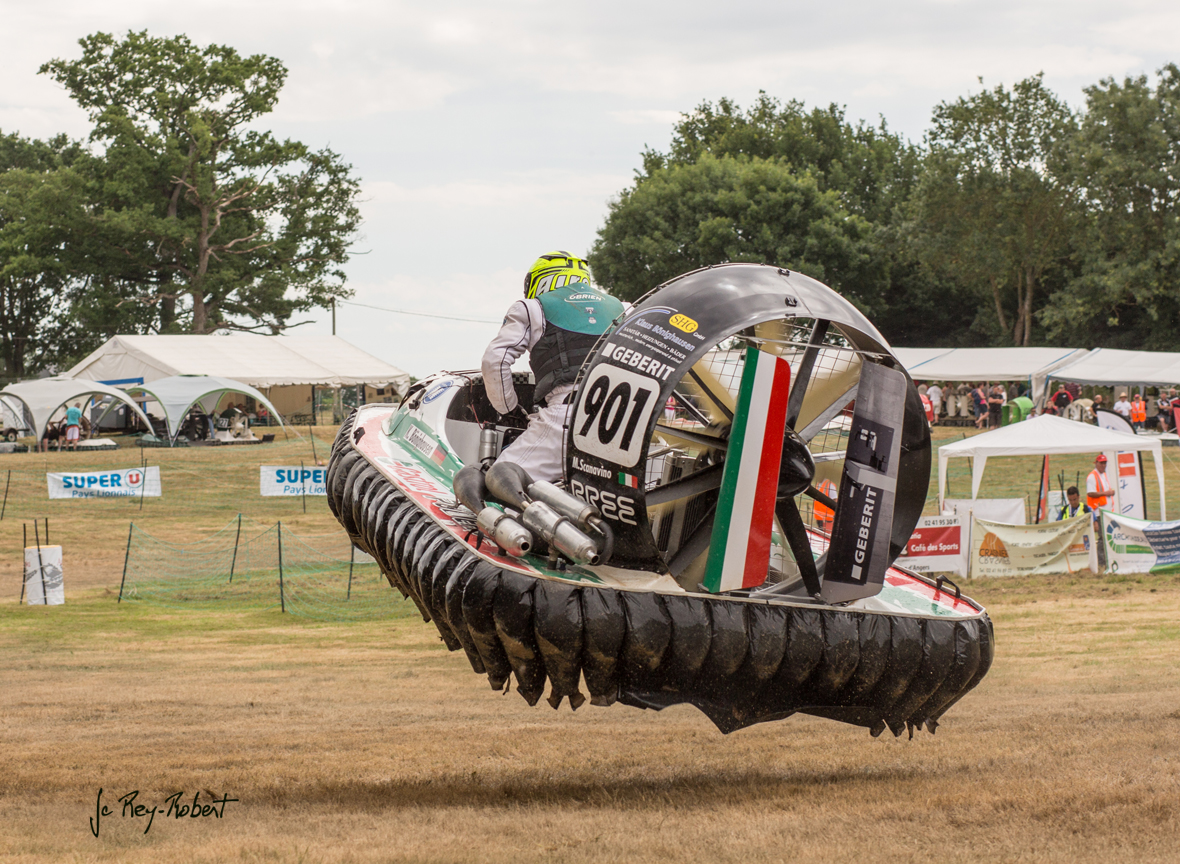 course d aeroglisseur